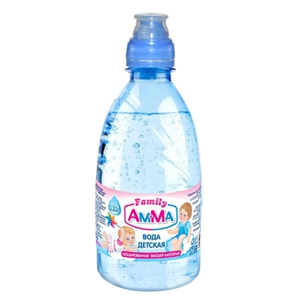 Вода детская Амма 0,33 л спорт<br>