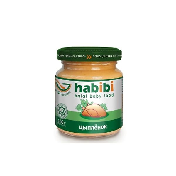 Пюре Habibi мясное 100 гр Цыпленок (с 6 мес)<br>