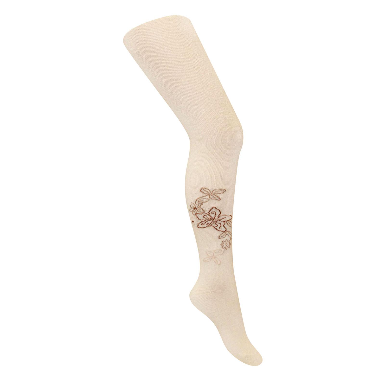 Колготки Para Socks с рисунком K1D35 р 110-116 см бежевый<br>