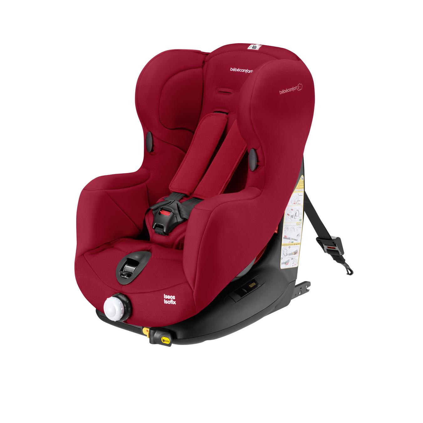 Автокресло Bebe Confort Iseos Isofix Raspberry Red<br>