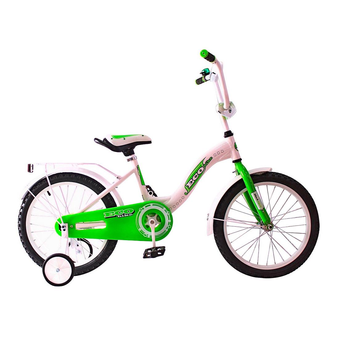 Велосипед двухколесный RT Aluminium BA Ecobike 18 KG1821 Зеленый<br>