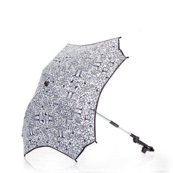 Зонт для коляски с раздвижным стержнем Anex Q1 Print<br>