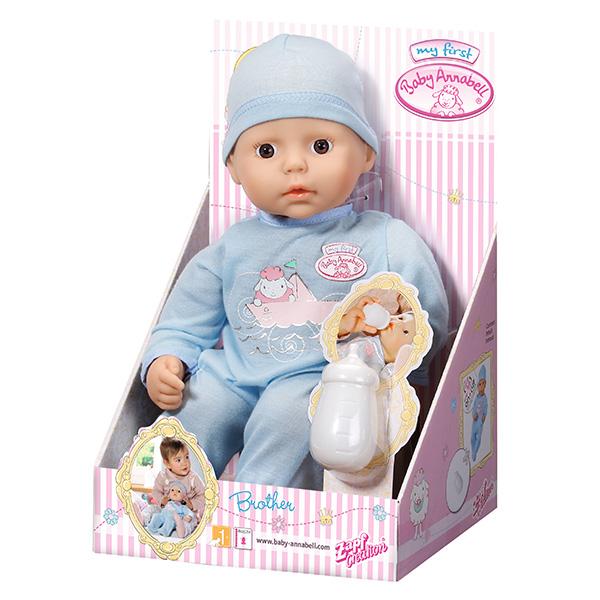 Кукла Zapf Creation My first Baby Annabell Мальчик с бутылочкой 36 см<br>