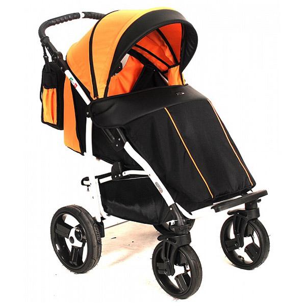 Коляска прогулочная Vikalex Ravella Black &amp;amp; Orange<br>