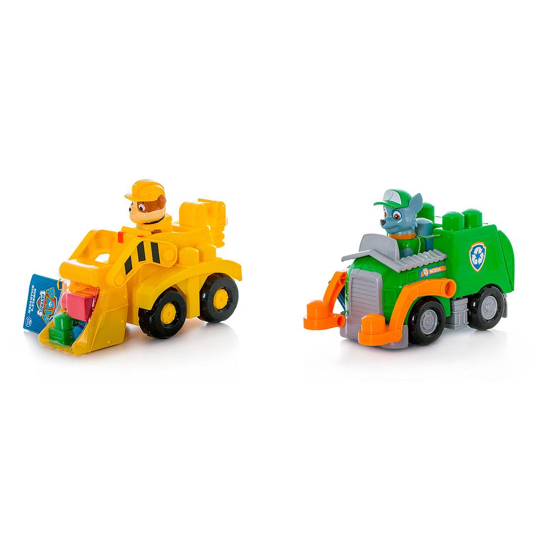 Игрушка Paw Patrol Машина Роки Бульдозер Крепыша<br>