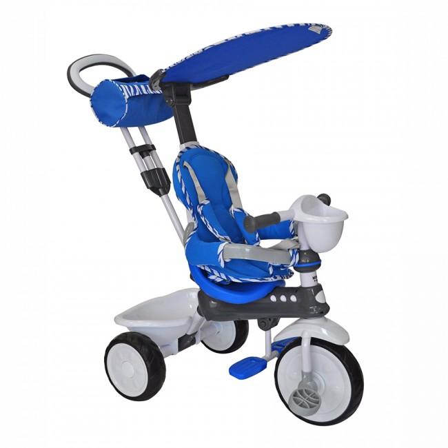 Велосипед трехколесный Mini Trike с пластиковыми колесами 108 Синий<br>