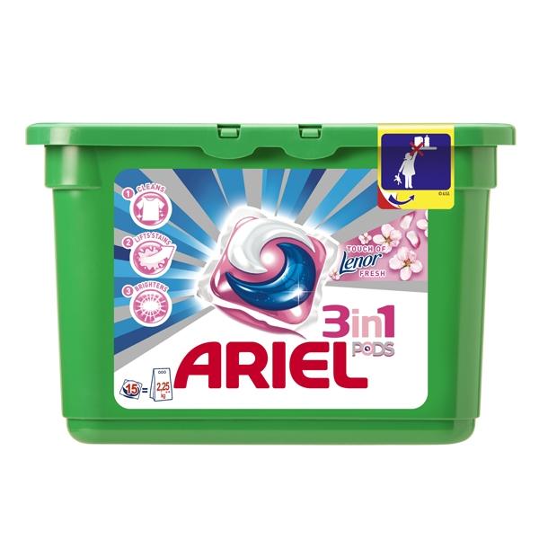 ������� Ariel ��� ������ Lenor Fresh 15 � 28,8 ��