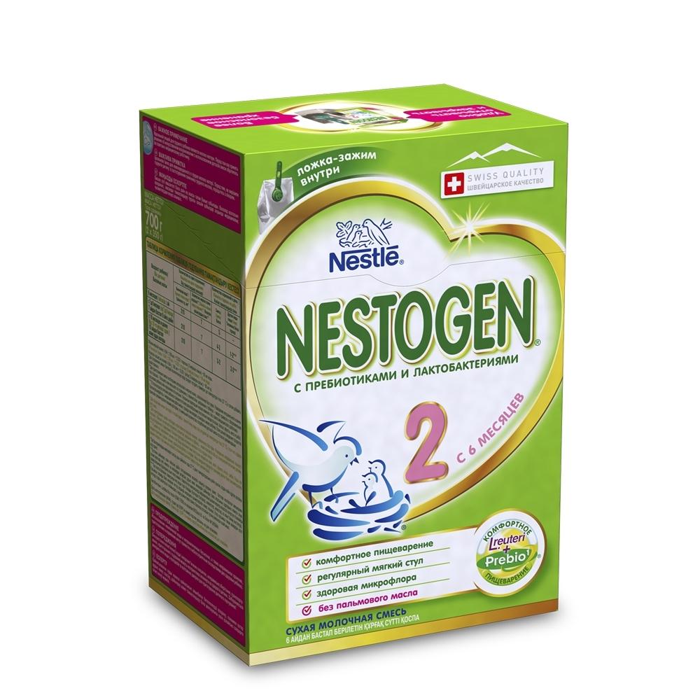 Молочная смесь Nestle Nestogen 700 гр №2 (с 6 мес)<br>