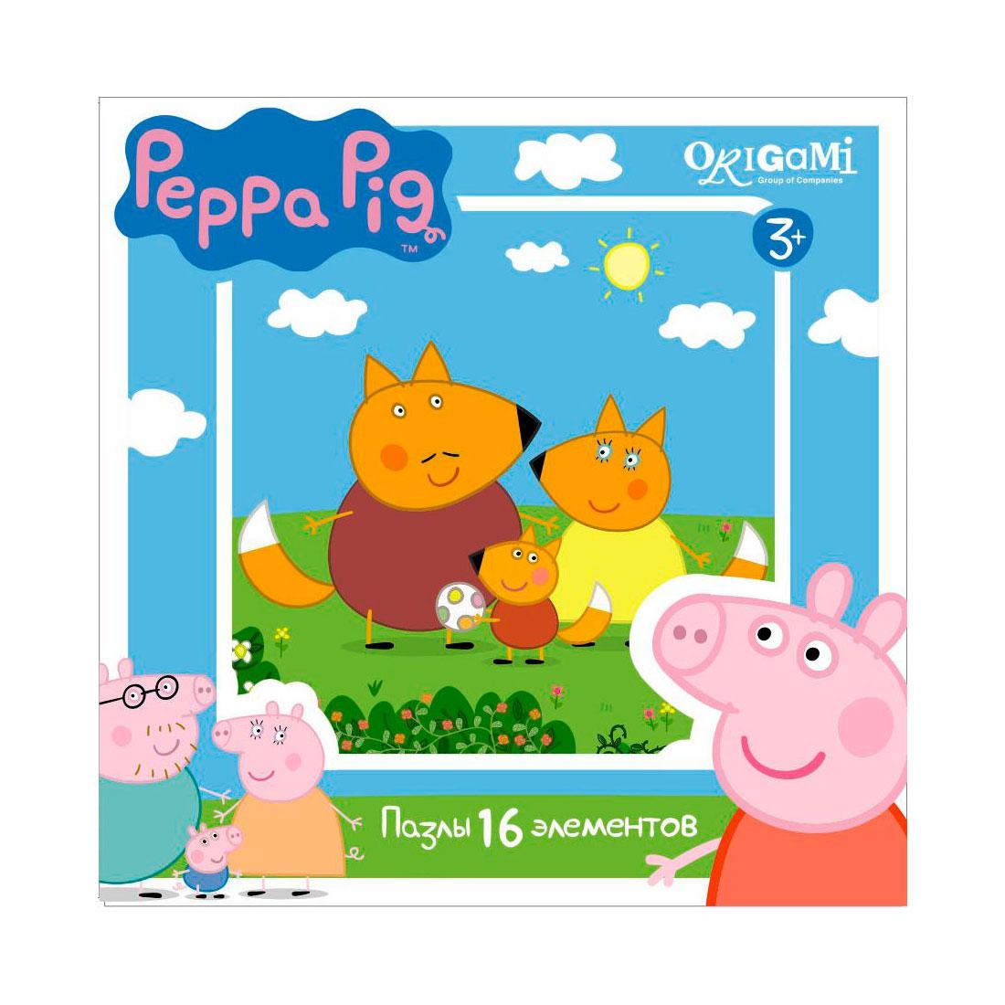 Пазл Origami Peppa Pig 1579<br>