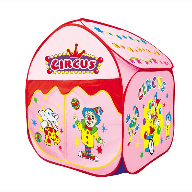 Игровой дом Yongjia Большой цирк Розовый<br>