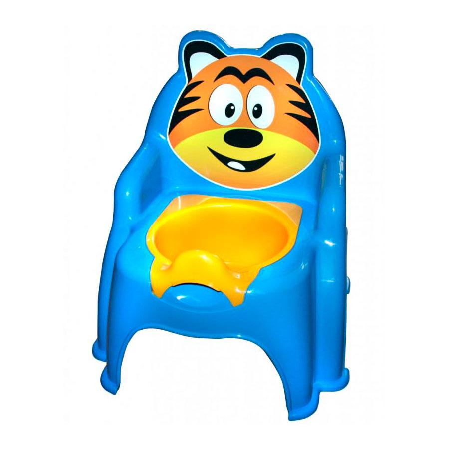 Горшок Doloni Тигра синий<br>