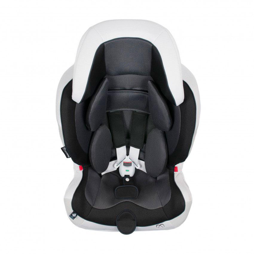 Автокресло Carmate Swing Moon Premium Черное с серым (CARMATE)