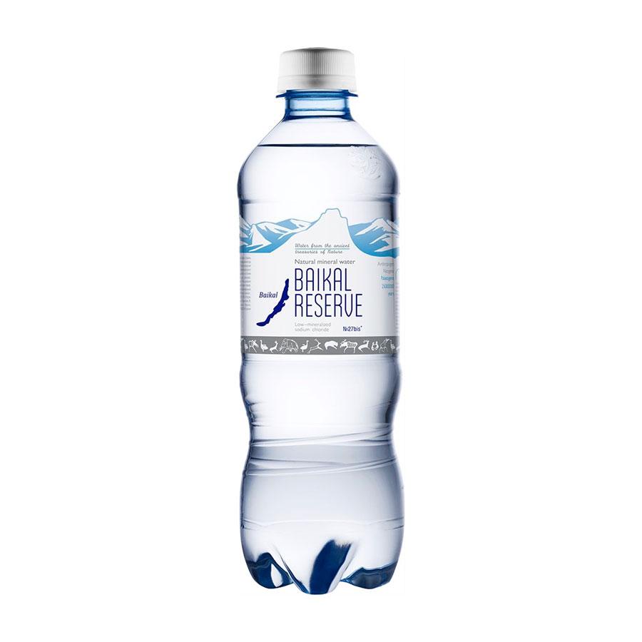 Вода минеральная Байкал Резерв Baikal RESEVE 0,5 л<br>