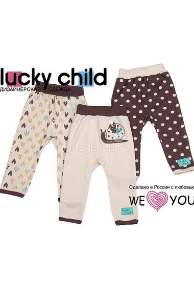 Комплект штанишки Lucky Child Улитки (3 шт)