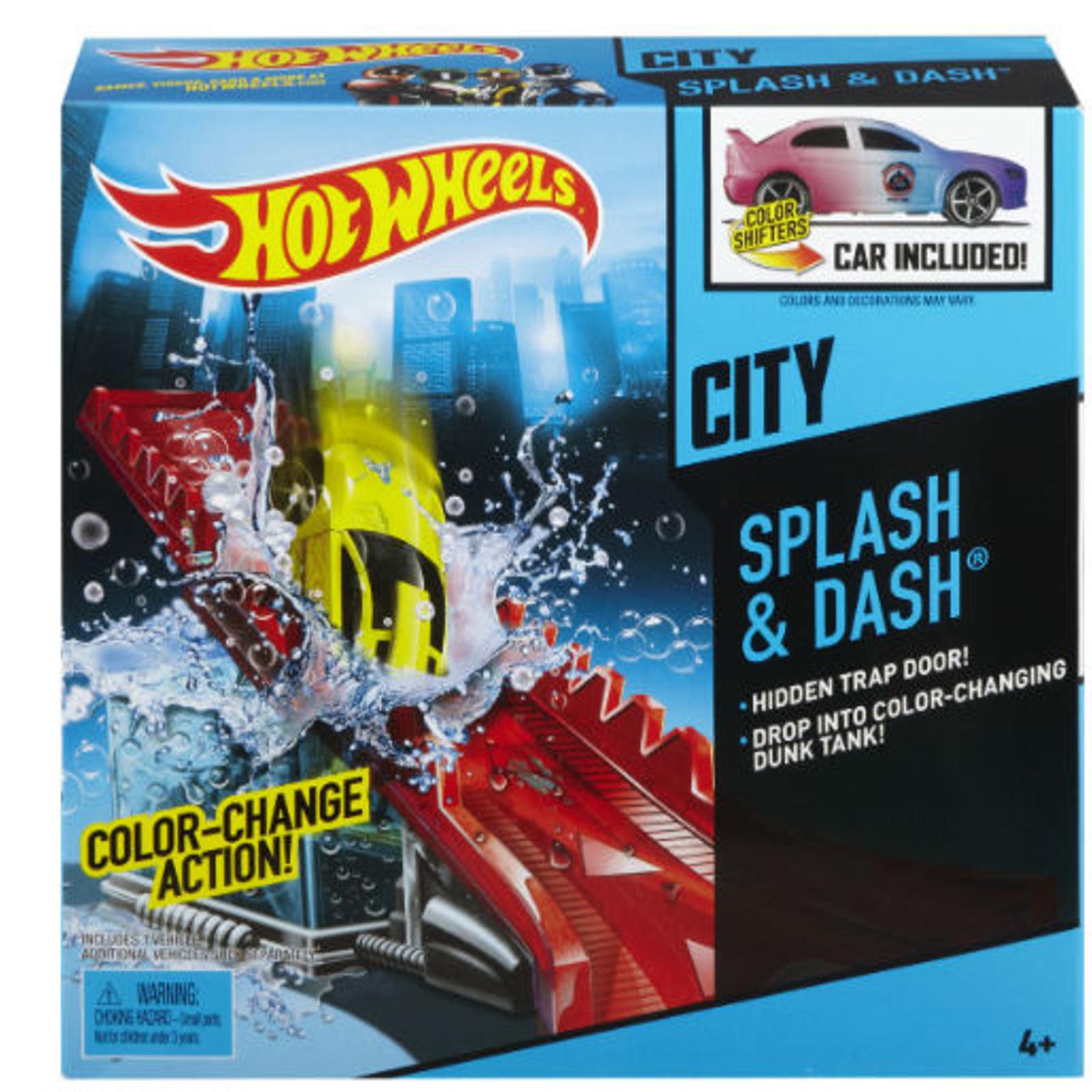 ������� ����� Hot Wheels ������� ����� Color Shifters Splash & Dash