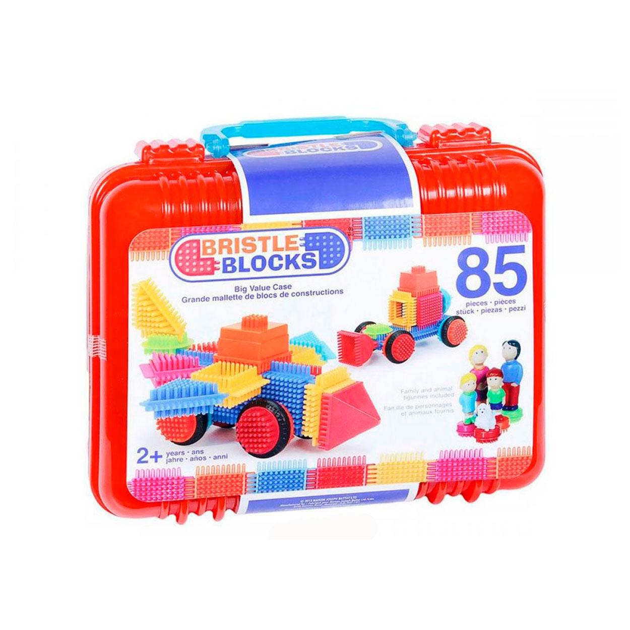 Конструктор Bristle Blocks 85 деталей в чемоданчике<br>