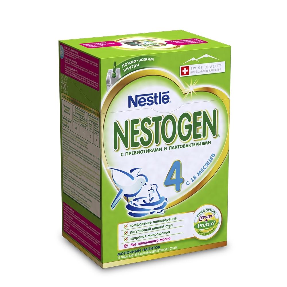 Детское молочко Nestle Nestogen 700 гр №4 (с 18 мес)<br>