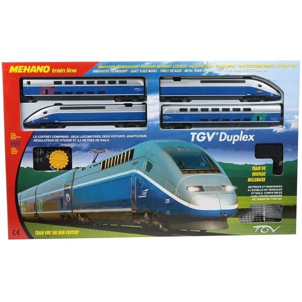 Железная дорога Mehano TGV Duplex<br>