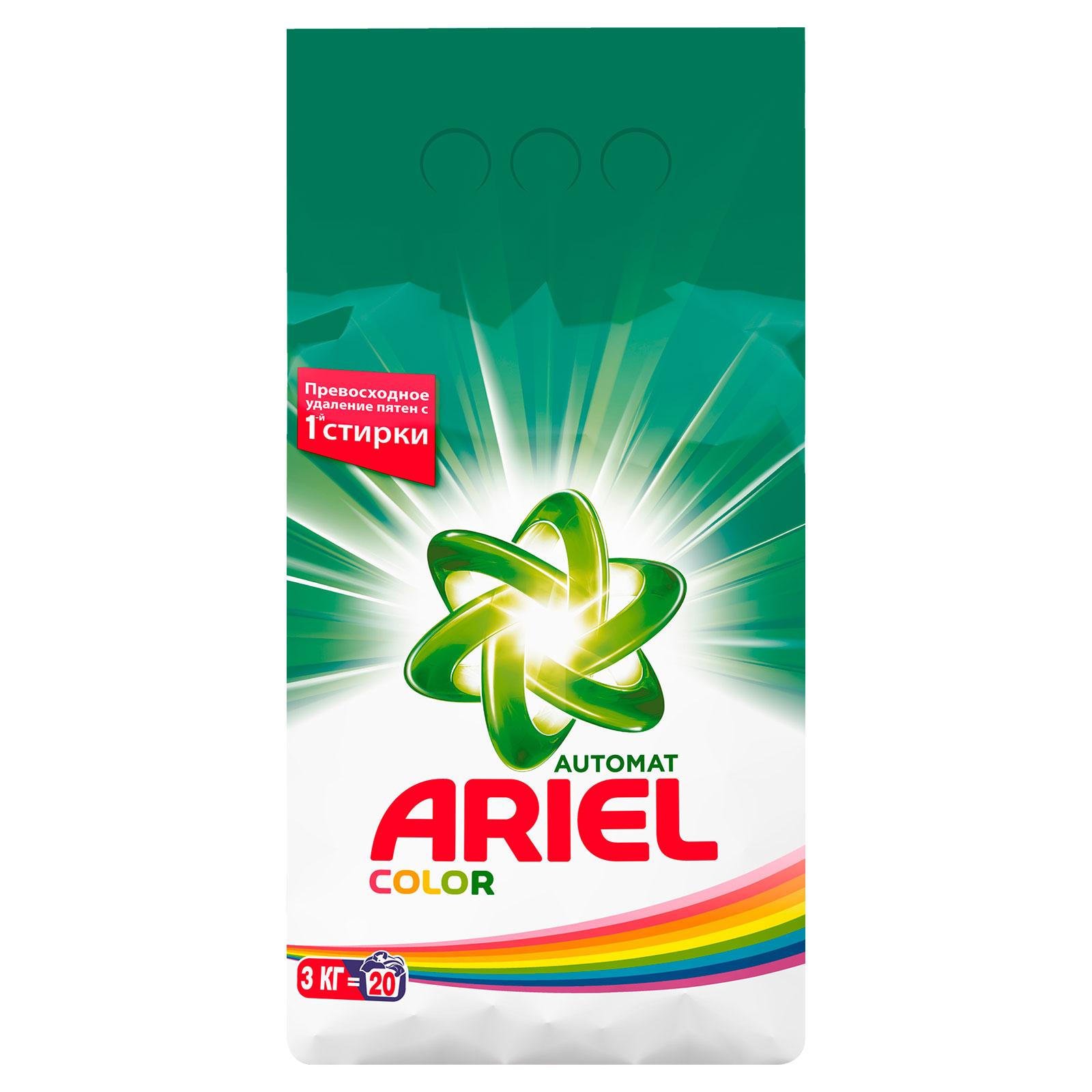 Стиральный порошок Ariel Color 3кг<br>