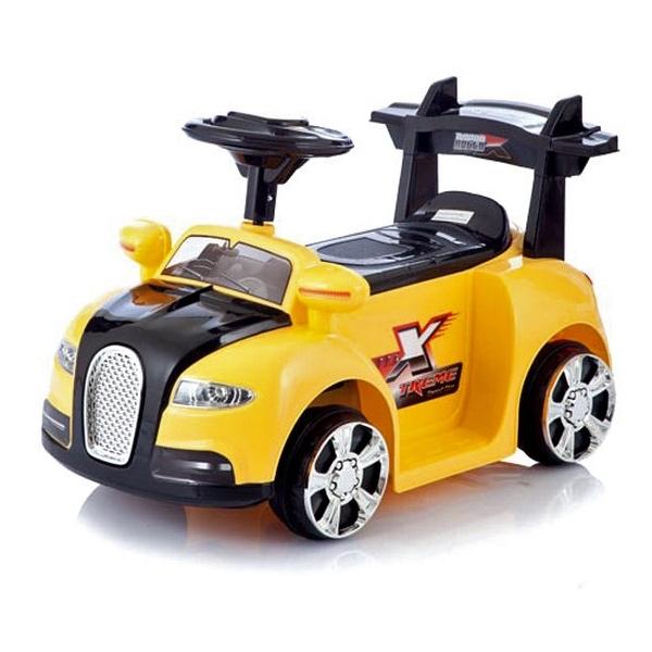 Электромобиль Jetem Bugatti Желтый<br>
