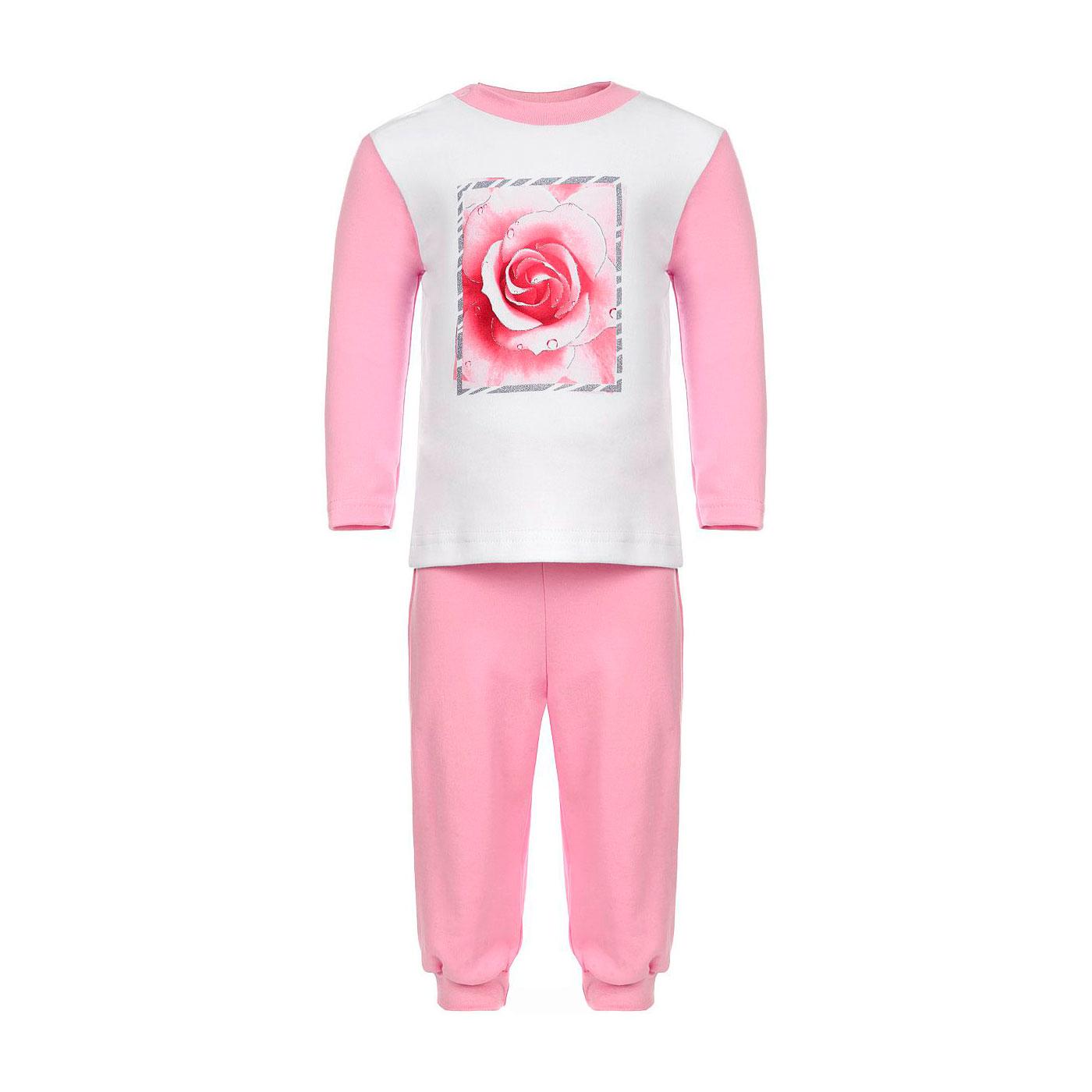 Пижама Котмаркот Розы рост 86 белый<br>