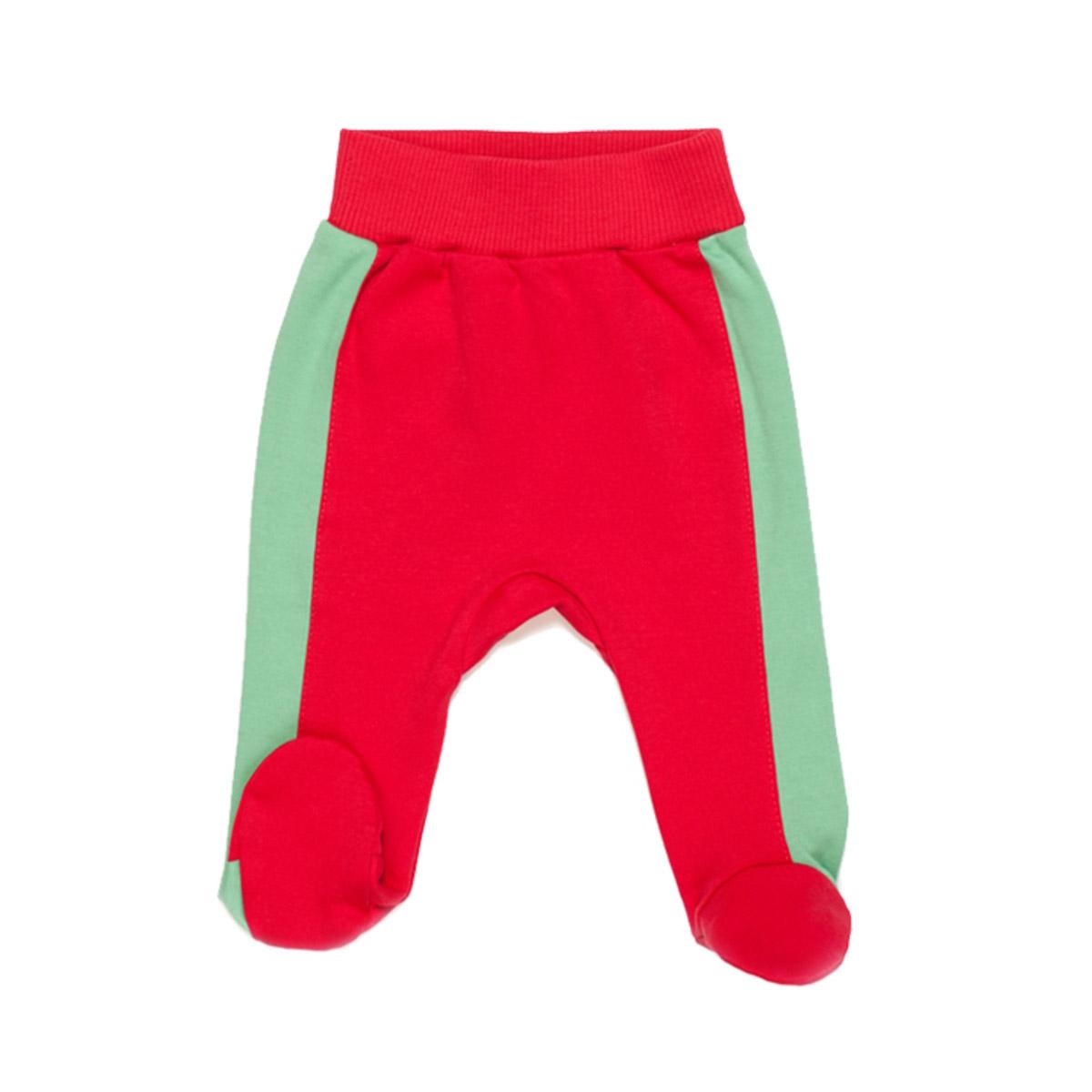 Ползунки с ножками Ёмаё Кони в яблоках (26-236) рост 68 красный<br>