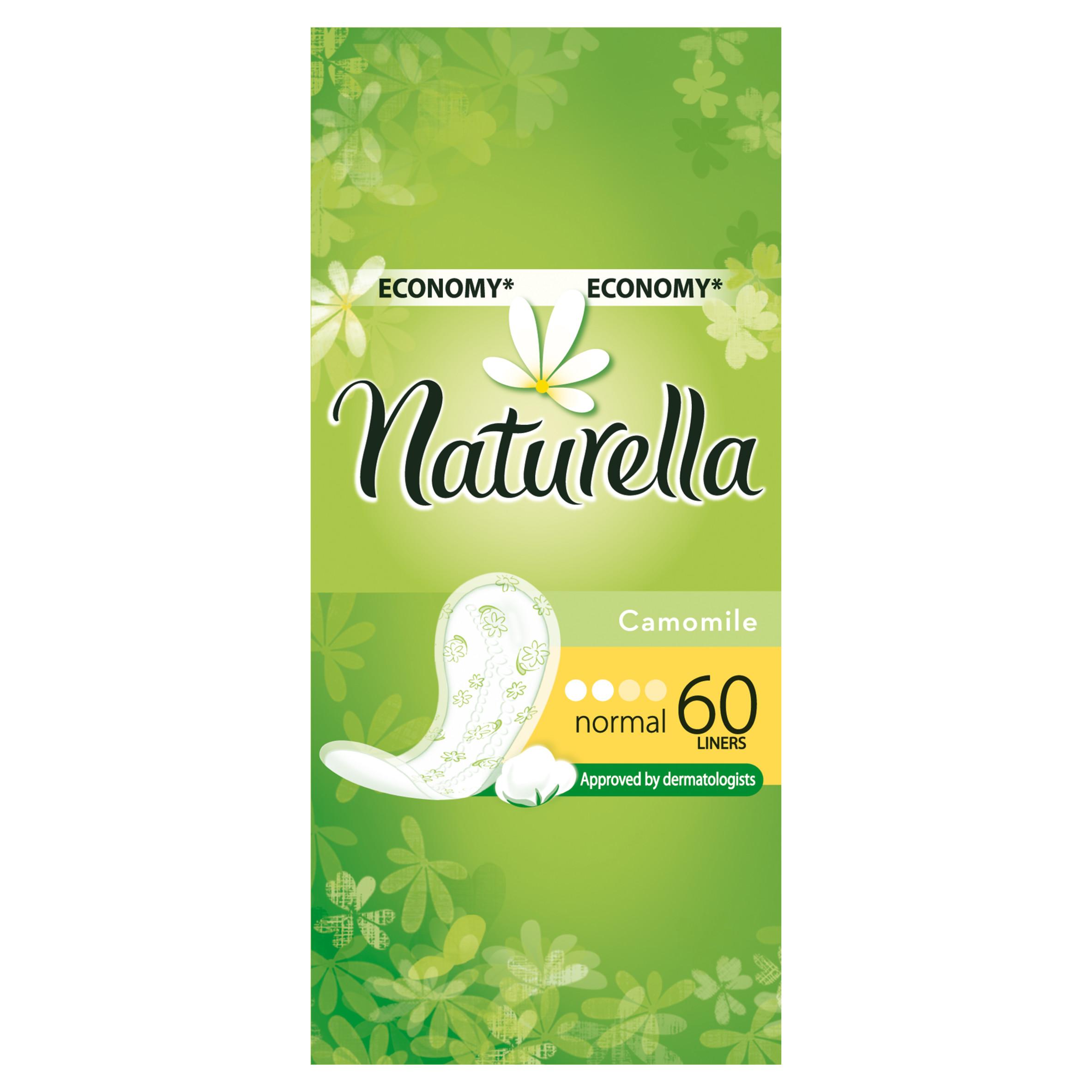 Прокладки гигиенические Naturella ежедневные Normal Camomile 60Шт.<br>