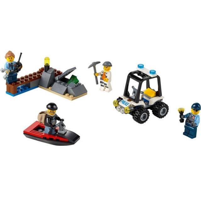 Конструктор LEGO City 60127 Набор для начинающих: Остров-тюрьма<br>