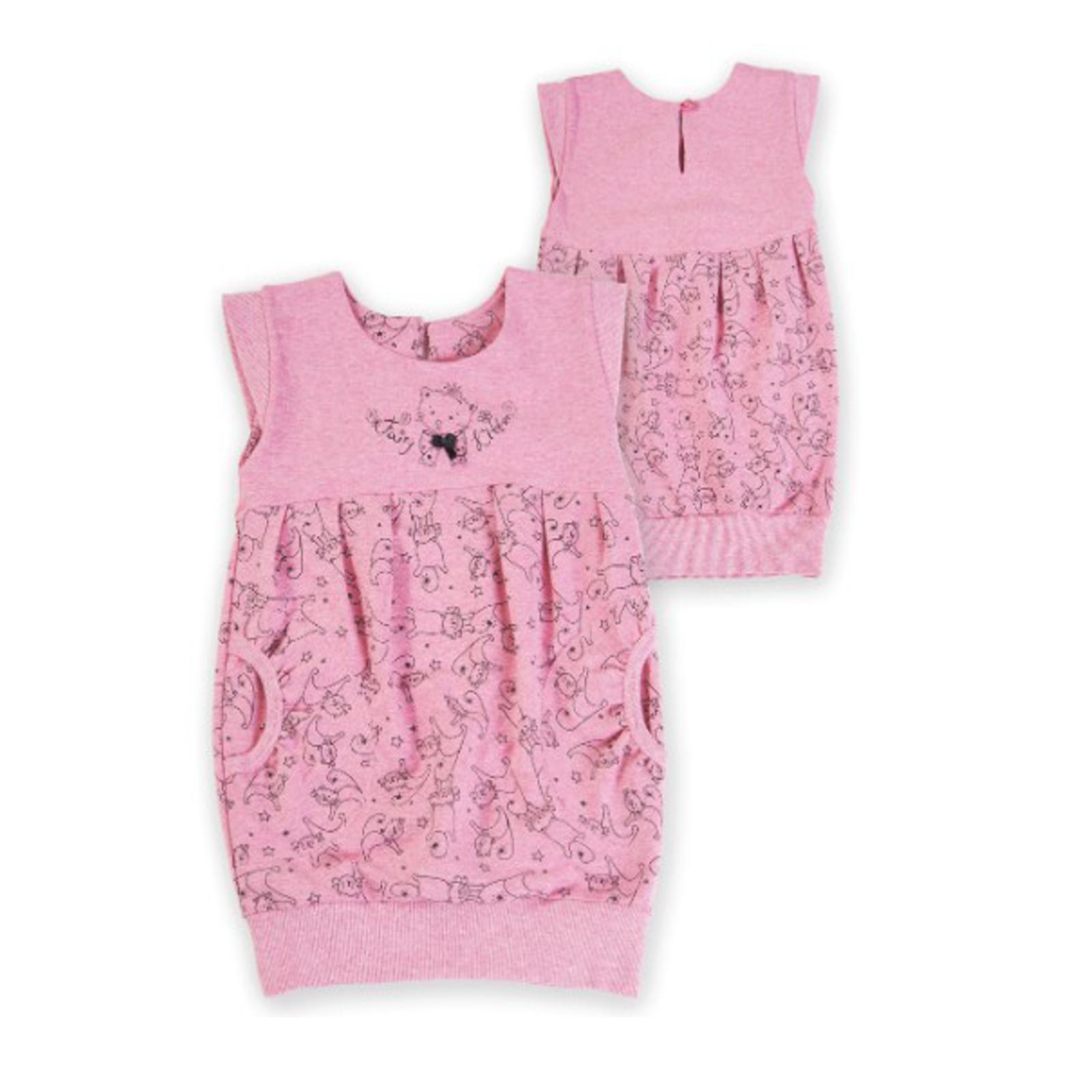Сарафан-туника Soni Kids Cони Кидс Кошечка Фея, цвет розовый размер 98