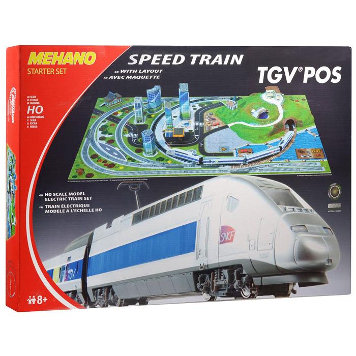 Железная дорога Mehano TGV POS  с ландшафтом<br>