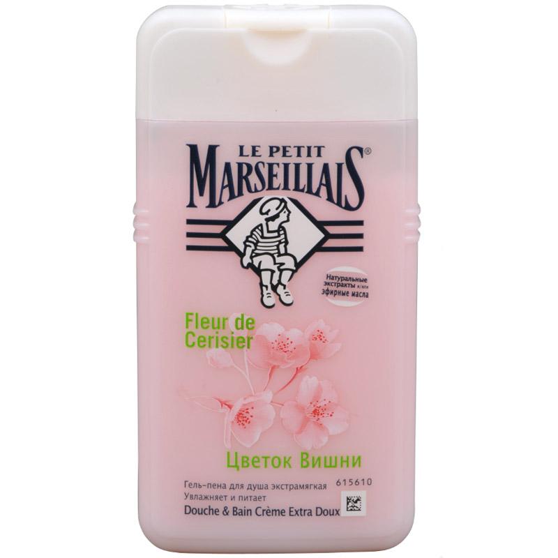Гель-пена для душа Le Petit Marseillais 250 мл Цветок вишни<br>