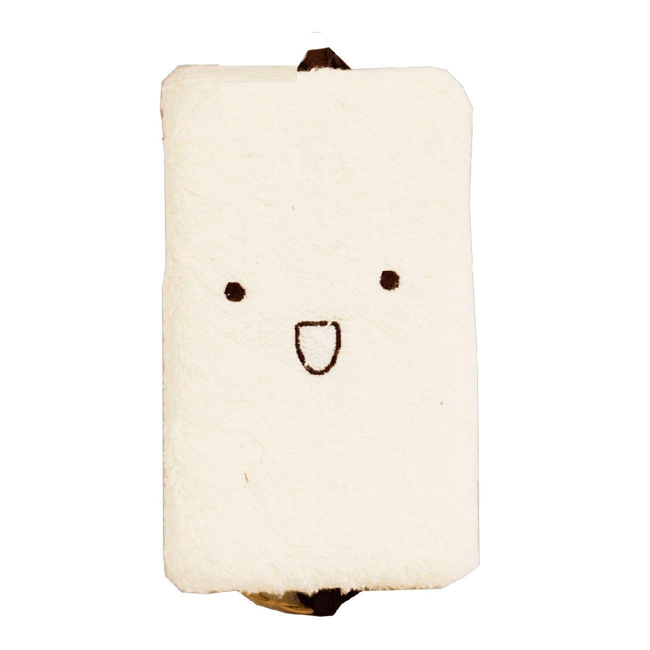 Мочалка массажная Kokubo для тела Мягкая с ручками 9 х 16 см<br>