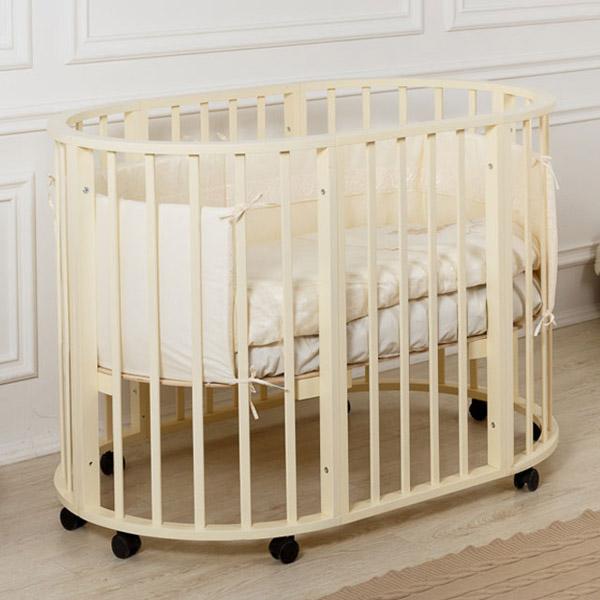 Кровать детская Incanto Gio 3 в 1 Слоновая кость<br>