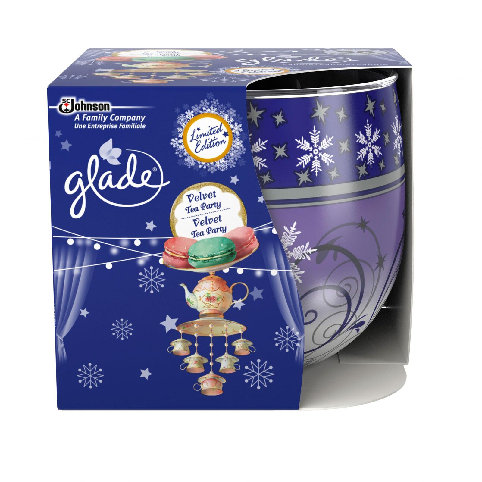 Свечи ароматизированные Glade Ванильное чаепитие 120 гр