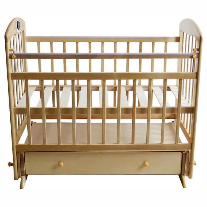 Кроватка Briciola 11 с поперечным маятником Светлая<br>