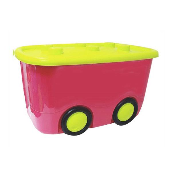 Ящик для игрушек Idea МОБИ Малиновый<br>