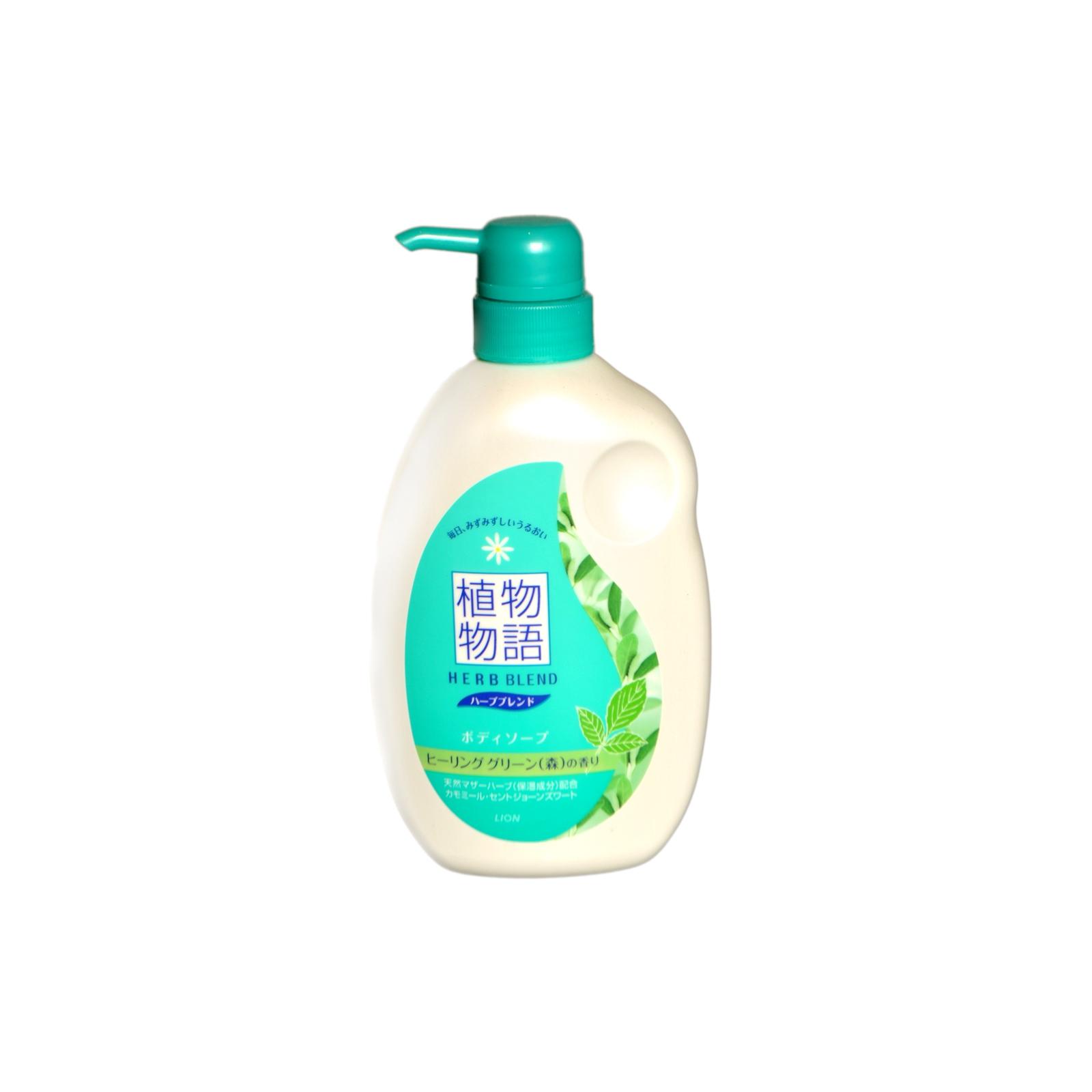Мыло жидкое для тела Lion HERB BLEND увлажняющее С экстрактами ромашки и зверобоя 580 мл<br>
