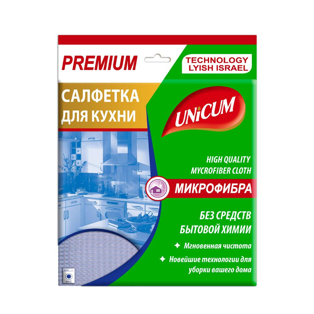 Салфетка Unicum микрофибра для кухни 1 шт<br>