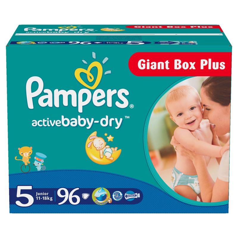 ���������� Pampers Active Baby Junior 11-18 �� (96 ��) ������ 5