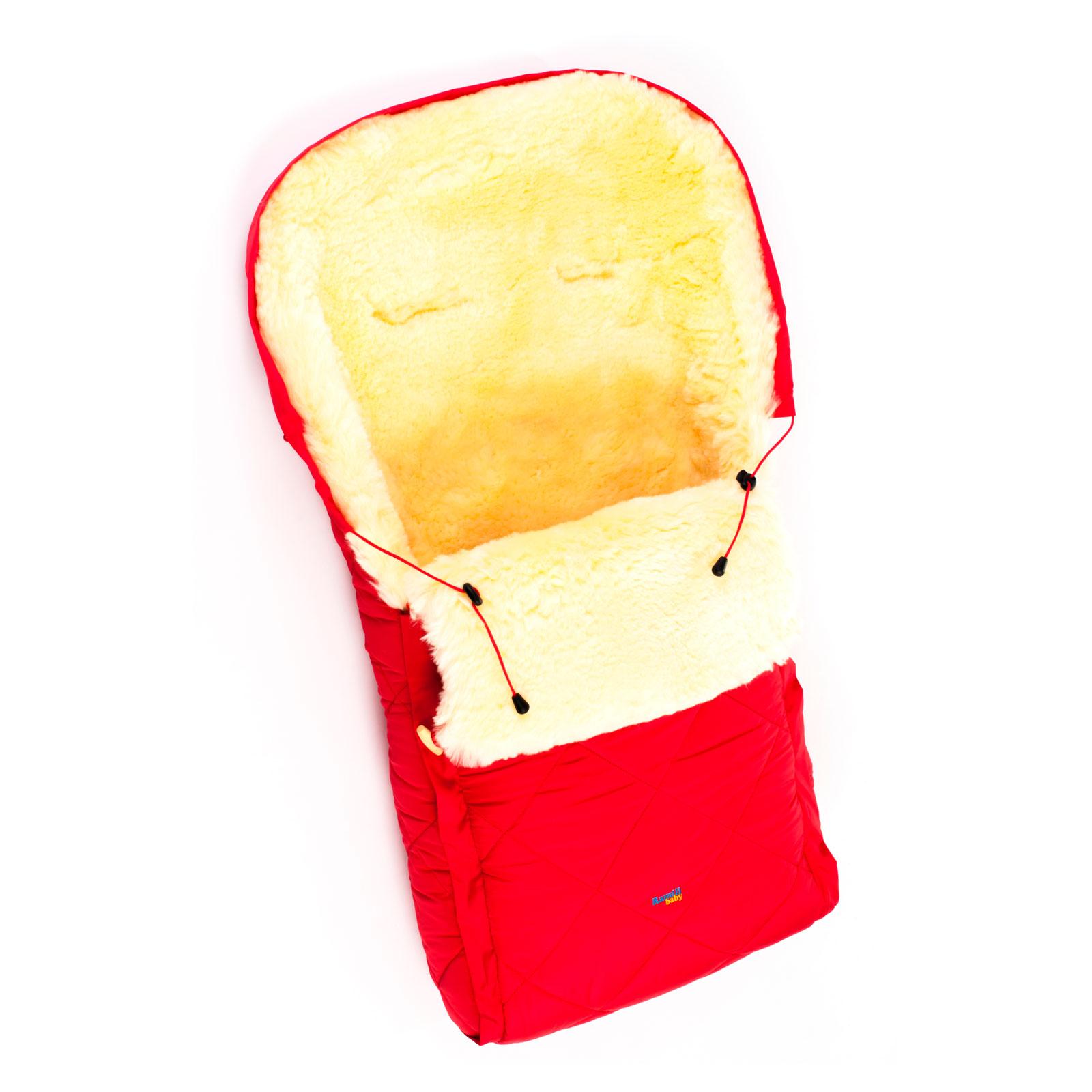 Конверт Ramili Classic меховой в коляску Red<br>
