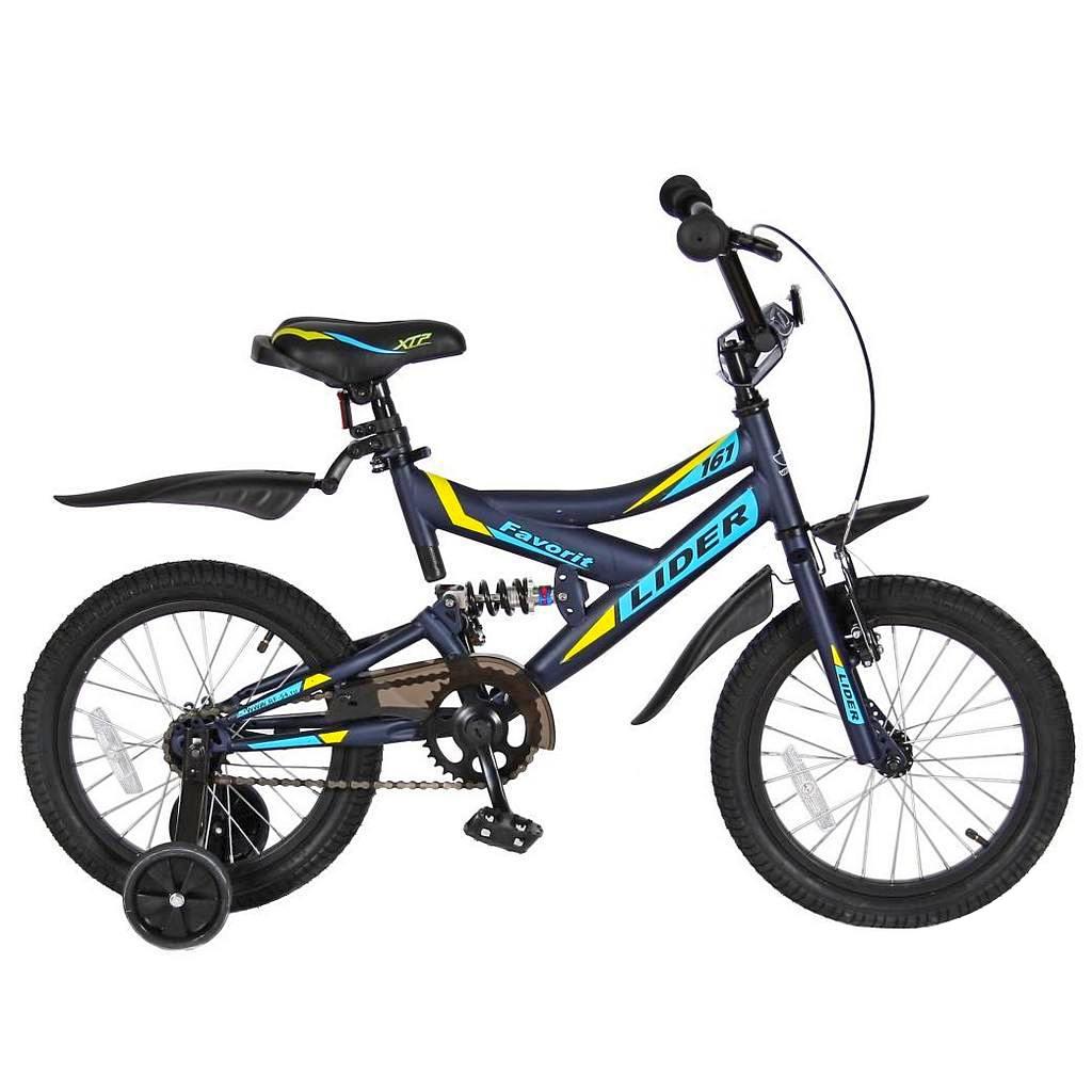Велосипед двухколесный VeloLider 16 1ск Lider Favorit 16BMX-2102С MATT 161 Серый<br>