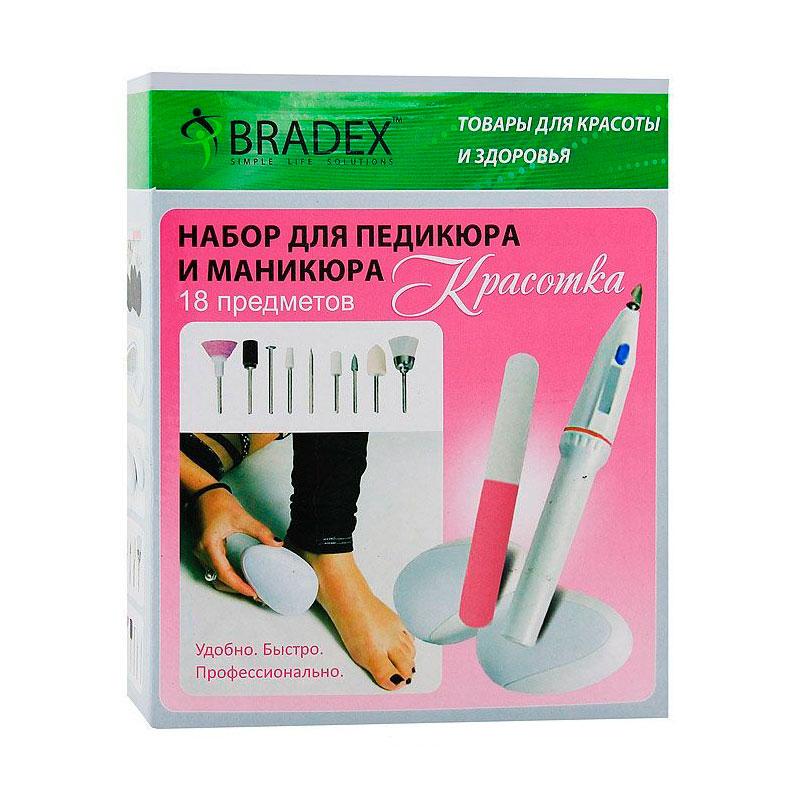 Набор для педикюра и маникюра Bradex Красотка<br>
