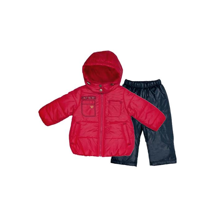 Комплект Бимоша куртка+брюки 6-9 мес. от Младенец.ru