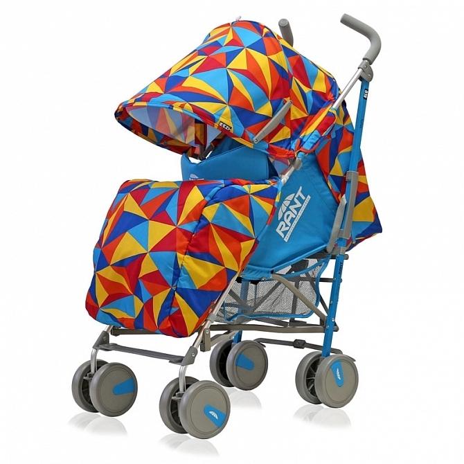 Коляска детская Rant Molly Alu Origami Blue<br>