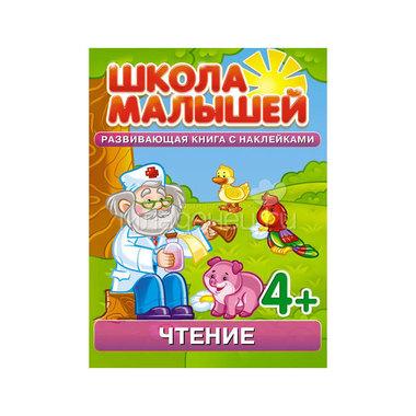 Окружающий мир Чтение. Развивающая книга с наклейками для детей с 4-х лет Разин С.