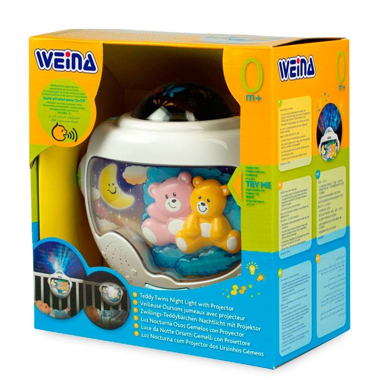 Ночник Weina Звездные мишки 2129<br>