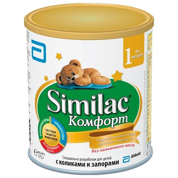 Заменитель Similac Комфорт 375 гр №1 (с 0 мес)<br>