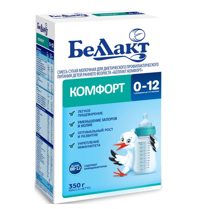 Заменитель БЕЛЛАКТ Комфорт 350 гр № 1 с 0 мес<br>