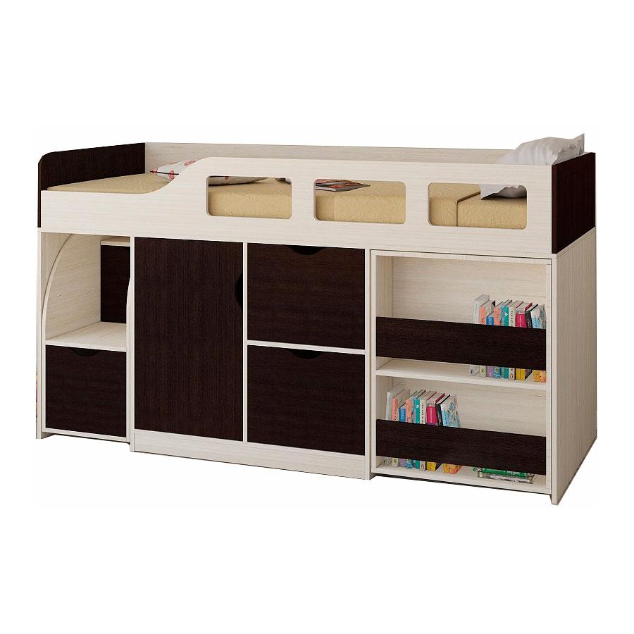 Набор мебели РВ-Мебель Астра 8 Дуб молочный/Венге<br>