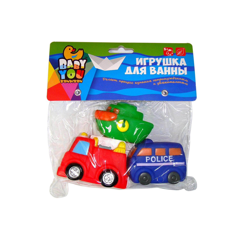 Игрушки для ванной Bondibon Транспорт